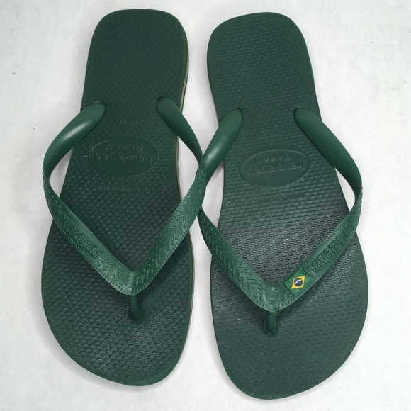dark green havaianas